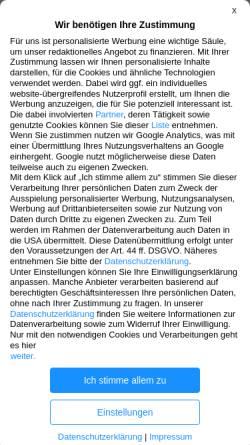 Vorschau der mobilen Webseite www.apotheken-umschau.de, Apotheken Umschau