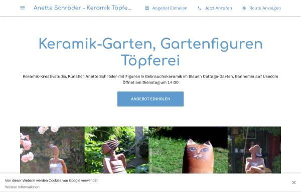 Vorschau von www.usedom-keramik.de, Kunst und Keramik, Anette Schröder