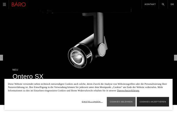Vorschau von www.baero.com, Bäro GmbH & Co. KG