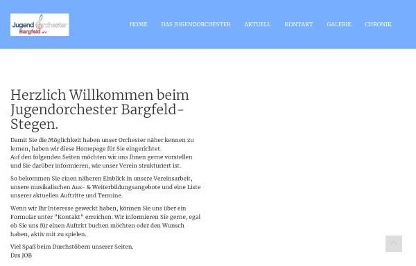 Vorschau von www.jugendorchester-bargfeld.de, Jugendorchester Bargfeld e.V.