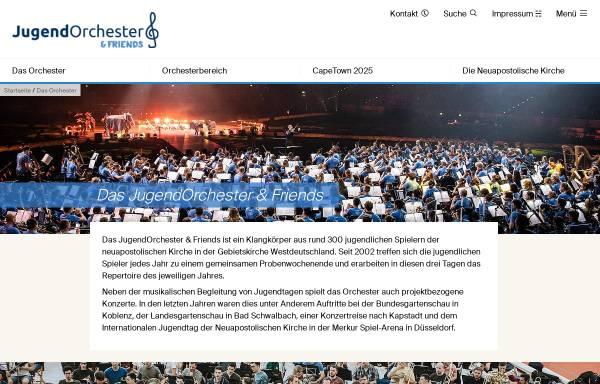 Vorschau von www.jugendtag-orchester.de, Jugendorchester Hessen, Rheinland-Pfalz, Saarland