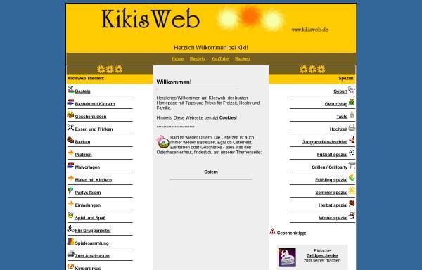 Vorschau von www.kikisweb.de, Kikisweb