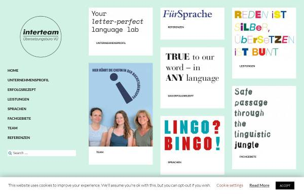 Vorschau von www.interteam-uebersetzungsbuero.de, Interteam Übersetzungsbüro München GbR