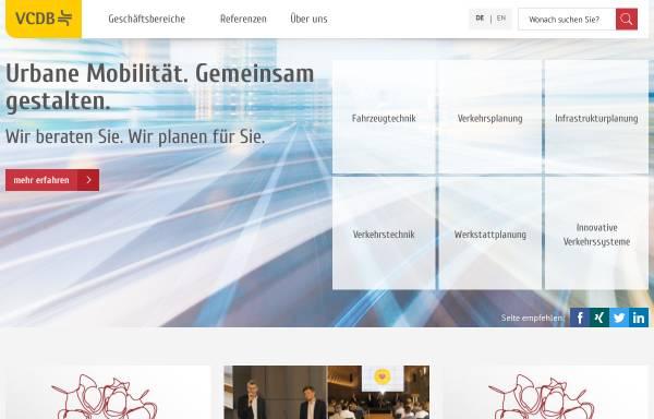 Vorschau von www.vcdb.de, VCDB VerkehrsConsult Dresden-Berlin GmbH