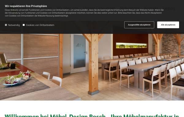 Vorschau von md-rosch.de, Möbeldesign Rosch GmbH