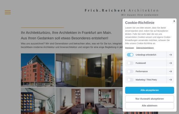Vorschau von www.frick-reichert.de, Frick, Uwe; Reichert, Wolfgang