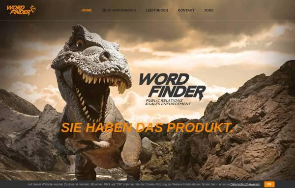 Vorschau von www.wordfinderpr.com, Wortfinder PR - Michael Makowski