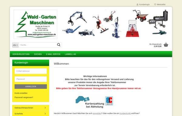 Vorschau von www.wald-garten-maschinen.de, Wald-Garten-Maschinen.de, Lilia Ivorra