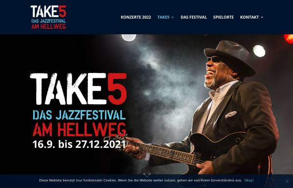 Vorschau von www.jazzamhellweg.de, Jazz am Hellweg - Take 5 Jazzfestival