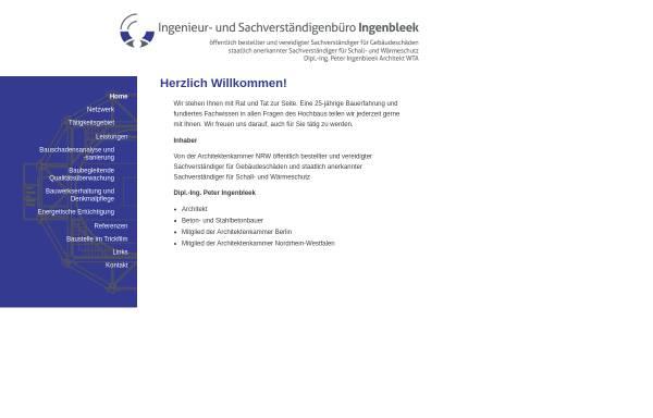 Vorschau von www.sv-ingenbleek.de, Ingenbleek, Peter