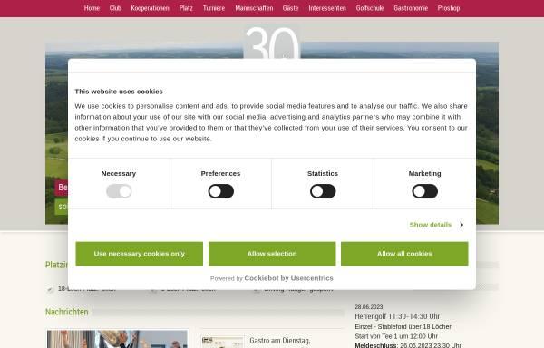 Vorschau von www.gckuerten.de, Golf-Club Kürten Bergerhöhe