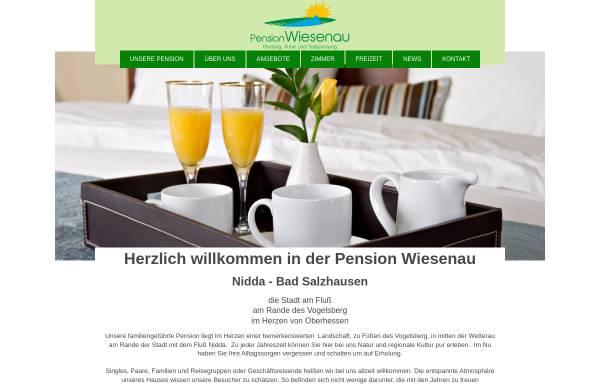 Vorschau von wiesenau.info, Kurpension Wiesenau
