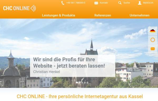 Vorschau von www.chc-online.de, CHC IT-Solutions