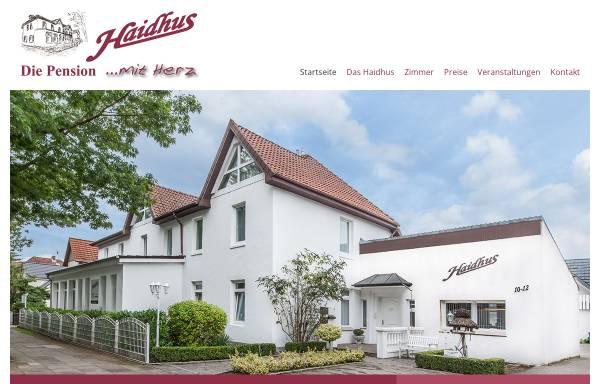 Vorschau von www.haidhus.de, Haidhus Pension