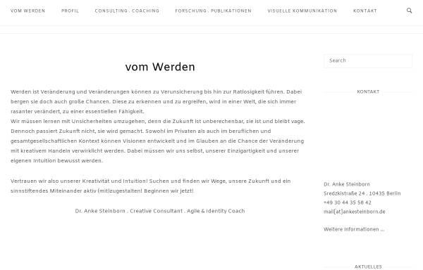 Vorschau von www.intais.com, Intais Communication - Anke Steinborn