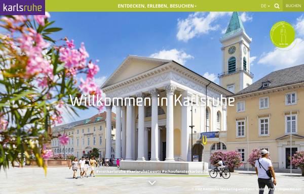 Vorschau von www.karlsruhe-erleben.de, Karlsruhe entdecken