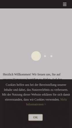 Vorschau der mobilen Webseite redcaps-jack-russell.de, Redcaps