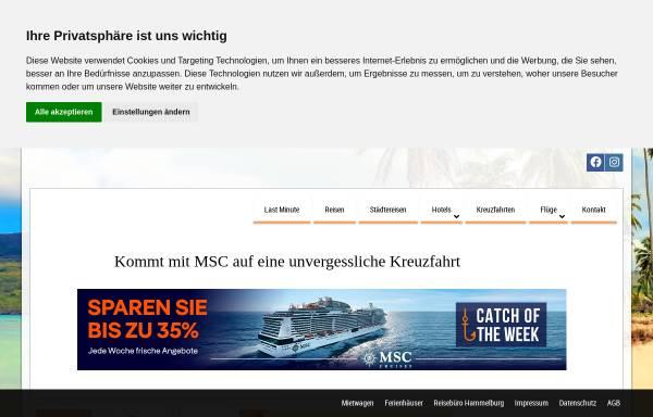 Vorschau von www.vip-reisen.de, Reisebüro Fella