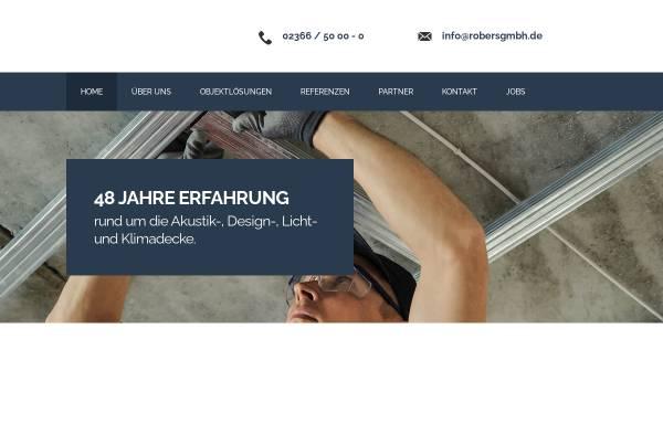 Vorschau von www.robersgmbh.de, Robers & Co. GmbH