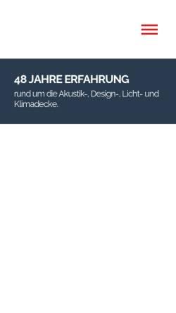 Vorschau der mobilen Webseite www.robersgmbh.de, Robers & Co. GmbH