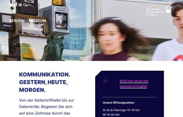 Vorschau von www.mfk-frankfurt.de, Museum für Kommunikation