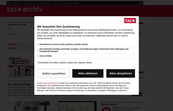 Vorschau von www.taz.de, Crazy Campus-Katzen