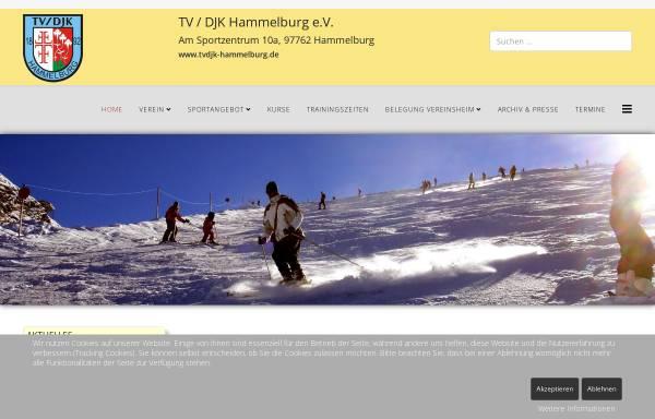 Vorschau von www.tvdjk-hammelburg.de, TV/DJK Hammelburg 1892 e.V.