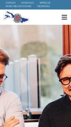 Vorschau der mobilen Webseite rt139.de, Round Table Stockach