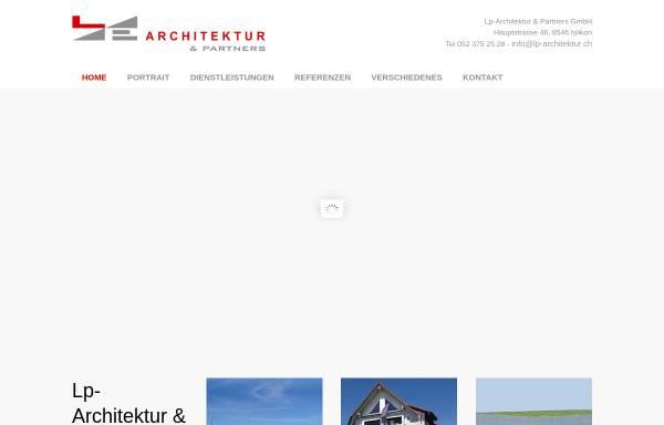 Vorschau von www.lp-architektur.ch, Lp-Architektur GmbH
