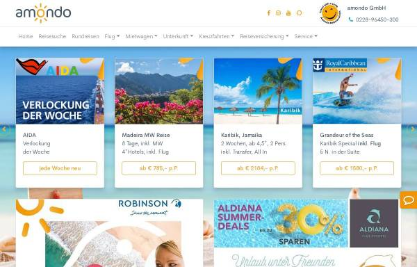 Vorschau von www.inter-tours.de, Inter Tours, Reiner Kirse