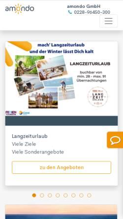 Vorschau der mobilen Webseite www.inter-tours.de, Inter Tours, Reiner Kirse