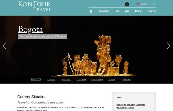Vorschau von www.kontour-travel.com, KonTour Exklusiv Reisen