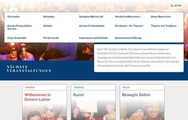 Vorschau von www.tik-bonn.de, tik Theater im Keller Bonn