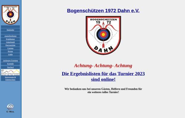 Vorschau von www.bs-dahn.de, Bogenschützen 1972 Dahn e.V.