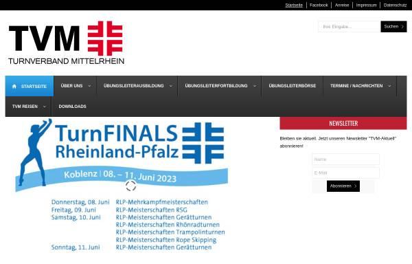 Vorschau von www.tvm.org, Turnverband Mittelrhein
