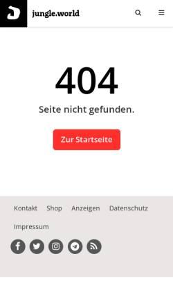 Vorschau der mobilen Webseite jungle-world.com, Einer fiel ins Kuckucksnest