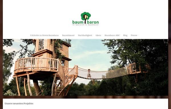 Vorschau von www.baumbaron.de, Baumbaron GmbH