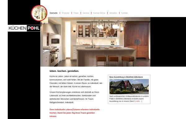 Vorschau von www.kuechenpohl.com, Küchenhaus Erich Pohl