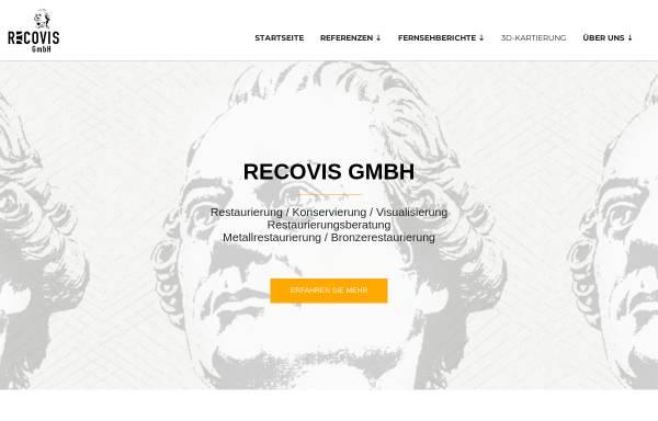 Vorschau von www.recovis-restaurierung.de, Recovis GmbH