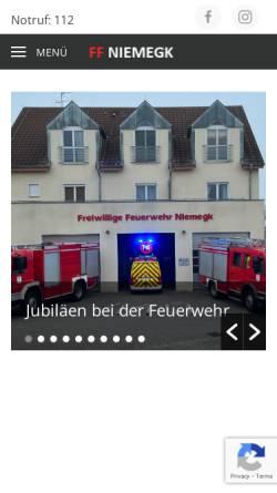 Vorschau der mobilen Webseite www.facebook.com, Freiwillige Feuerwehr Belzig