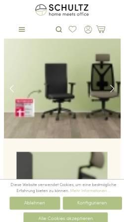 Vorschau der mobilen Webseite www.schultz.de, Schultz GmbH & Co. KG