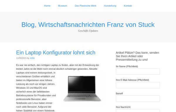 Vorschau von www.franzvonstuck.de, Geburtshaus Franz von Stuck