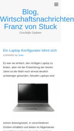 Vorschau der mobilen Webseite www.franzvonstuck.de, Geburtshaus Franz von Stuck