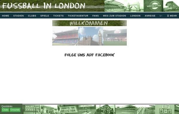 Vorschau von www.fussballinlondon.de, Fussballinlondon.de