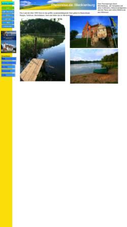 Vorschau der mobilen Webseite mecklenburg.photoreise.de, Photoreise.de