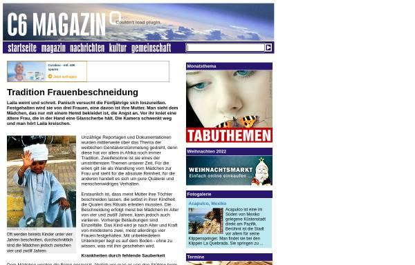 Vorschau von archiv.c6-magazin.de, C6-Magazin, Tradition Frauenbeschneidung