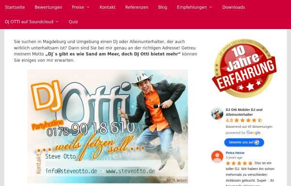 Vorschau von www.steveotto.de, DJ Otti