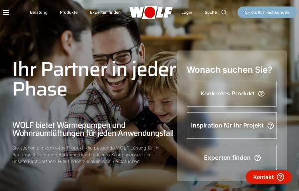 Wolf GmbH in Mainburg: Heizkörper und -kessel, Wärme- und ...