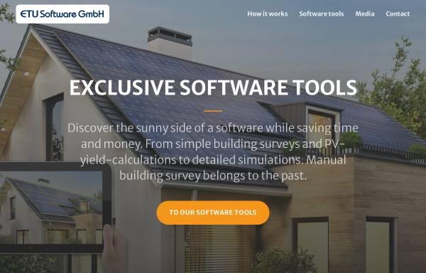 Vorschau von etu-software.com, ETU Software GmbH