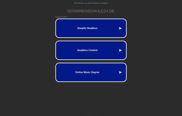 Vorschau von www.gitarrenschule24.de, gitarrissi-mo